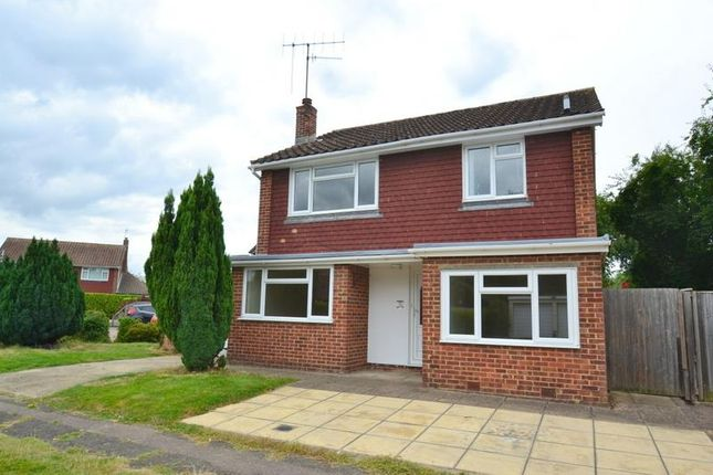 Thumbnail Detached house to rent in Stonecourt Close, Horley