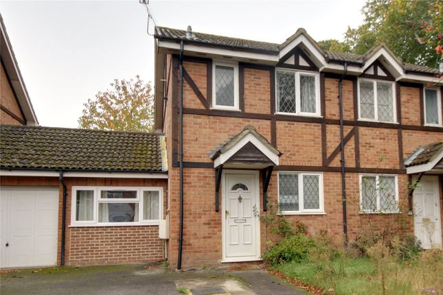 Semi-detached house to rent in Ravenfield, Englefield Green, Surrey