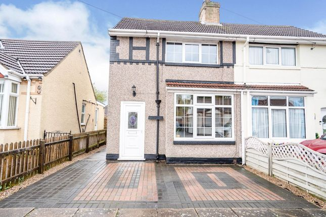 2 bed semi-detached house for sale in Hilary Road, Grimsby DN33