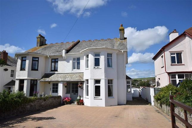 Thumbnail Semi-detached house for sale in Ocean View Road, Bude