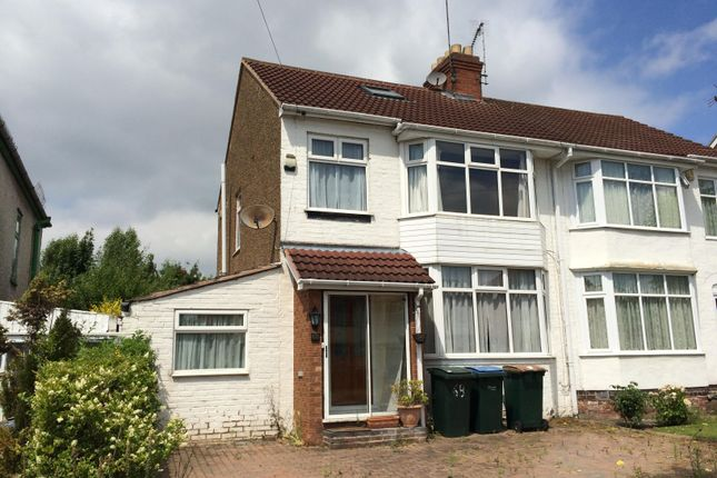 4 Bed Semi Detached House To Rent In Moat Avenue Coventry