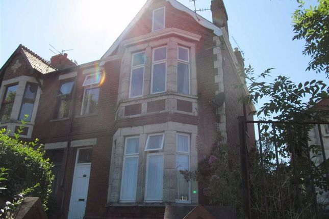 Thumbnail End terrace house for sale in Romilly Road, Barry, Vale Of Glamorgan