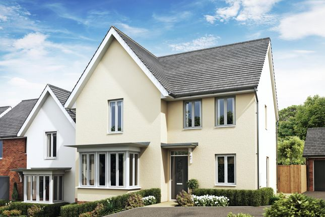 "Thumbnail Detached house for sale in ""Cambridge"" at Godwell Lane, Ivybridge"