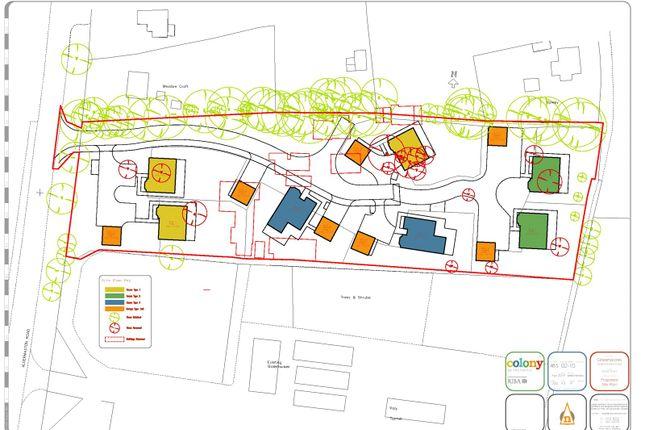 Site Layout of Aldermaston Road, Pamber Green, Tadley, Hampshire RG26
