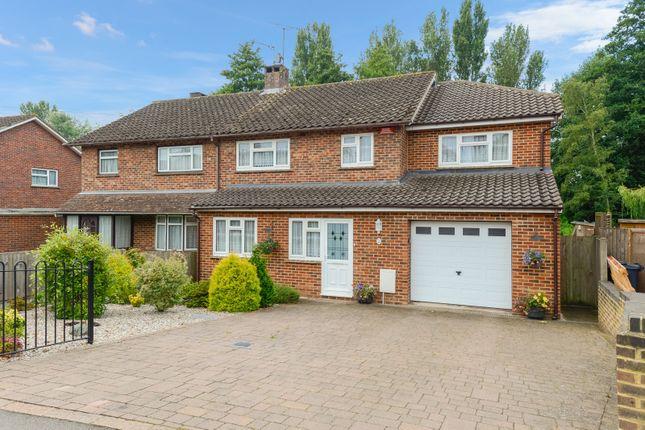 Thumbnail Semi-detached house for sale in Faversham Road, Kennington, Ashford