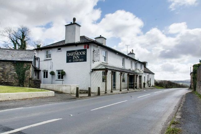 Thumbnail Pub/bar for sale in Lydford