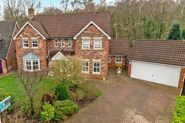 Thumbnail Detached house for sale in Hatfield Gardens, Appleton, Warrington