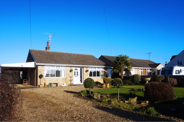 Thumbnail Detached bungalow for sale in Roman Bank, Spalding