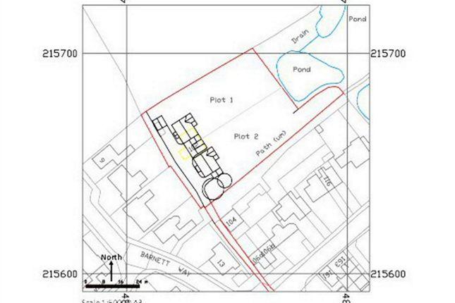 Thumbnail Land for sale in Aylesbury Road, Bierton, Buckinghamshire