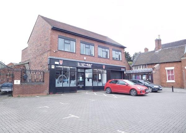Thumbnail Retail premises for sale in High Street, Uttoxeter