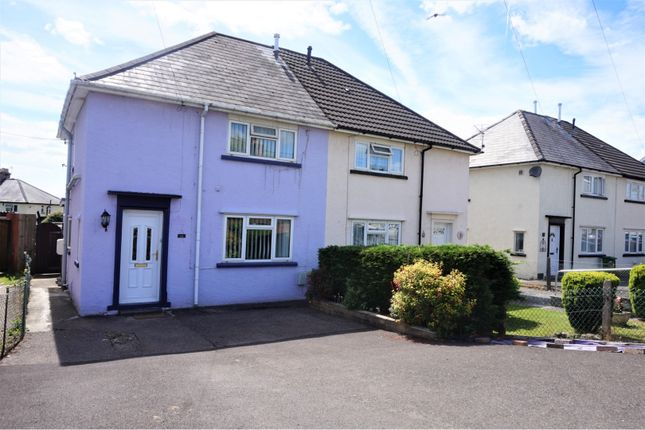 Thumbnail Semi-detached house for sale in Heol Miskin, Pontyclun