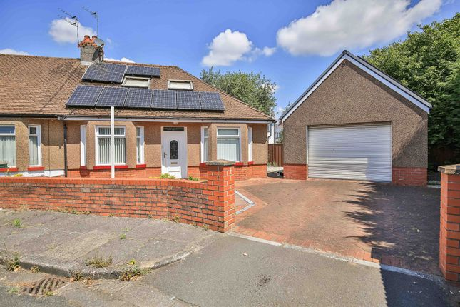 Thumbnail Semi-detached bungalow for sale in Hilton Place, Llandaff North, Cardiff