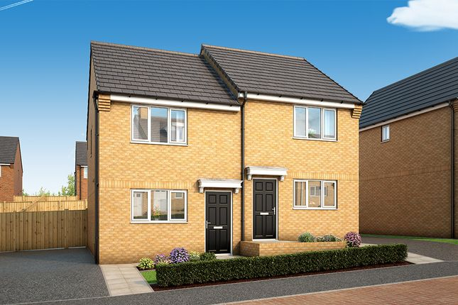 "Thumbnail Property for sale in ""The Halstead"" at South Parkway, Seacroft, Leeds"