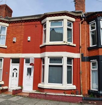 Thumbnail Terraced house to rent in Linwood Road, Tranmere, Wirral