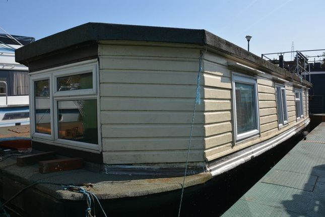 Thumbnail Houseboat for sale in Swan Island, Strawberry Vale, Twickenham