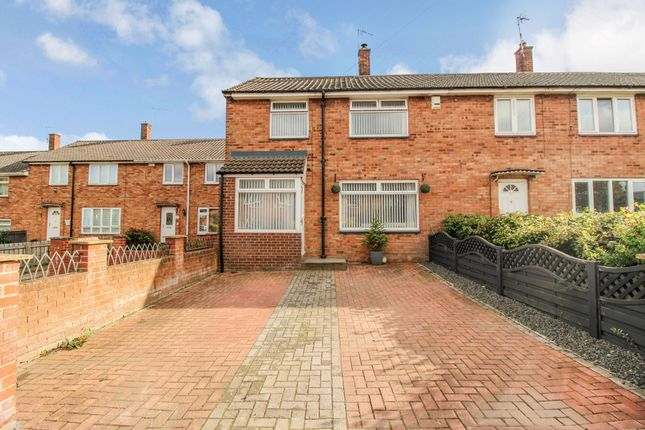 Thumbnail 3 bed semi-detached house for sale in Aln Walk, Gosforth, Newcastle Upon Tyne