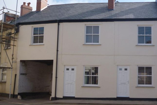 Thumbnail Terraced house to rent in Park Street, Tiverton