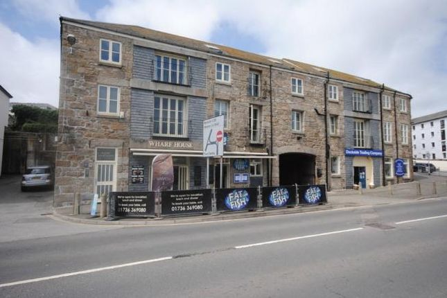Thumbnail Flat to rent in Wharf Road, Penzance