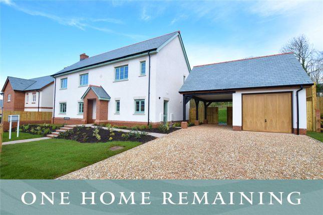 Thumbnail Detached house for sale in Rockbeare, East Devon, Devon