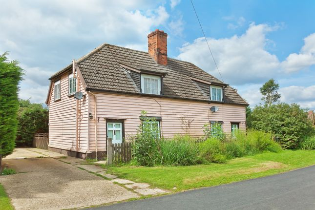 Thumbnail Cottage for sale in Morris Green, Sible Hedingham, Halstead