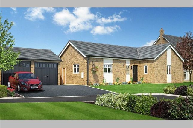 Thumbnail Bungalow for sale in Plot 3 Henlle Ridge, Chirk Road, Henlle, Oswestry, Shropshire