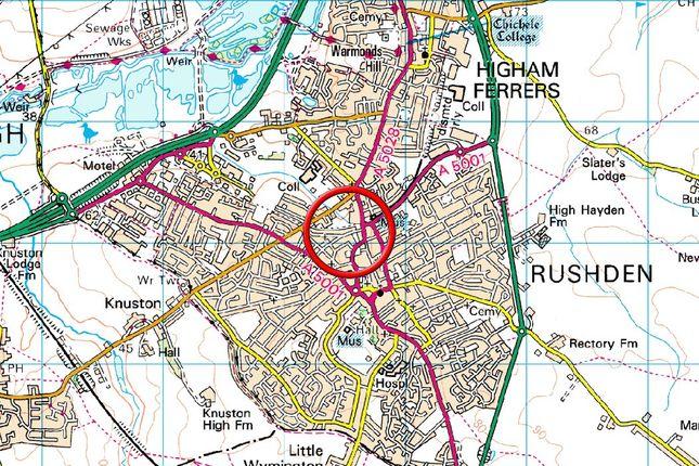 Map 3  of Station Road, Rushden NN10