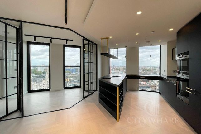Thumbnail Flat to rent in One Crown Place, Sun Street, London