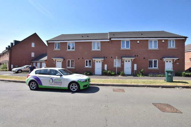 Thumbnail Terraced house to rent in Angilan Way, New Stoke Village, Coventry