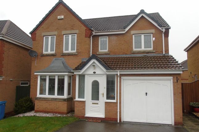 Thumbnail Detached house to rent in Fitzwilliam Drive, Forest Town, Mansfield