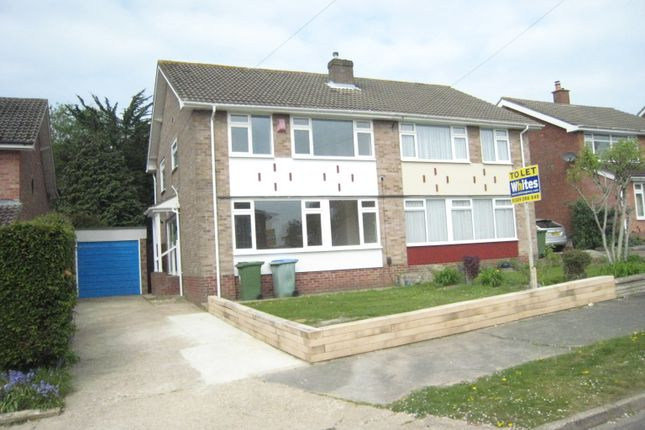 Thumbnail Semi-detached house to rent in Morshead Crescent, Fareham