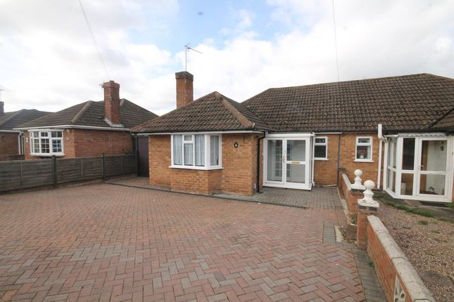 Thumbnail Semi-detached bungalow for sale in Crawford Close, Leamington Spa