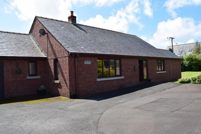 Thumbnail Detached bungalow for sale in 6 Kirtlebank, Rigg, Dumfries & Galloway