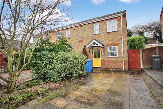Thumbnail End terrace house for sale in Romany Road, Norwich