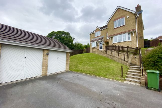 Thumbnail Detached house for sale in The Oaks, Aberdare, Mid Glamorgan