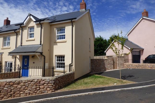 Thumbnail End terrace house for sale in Charles Road, Kingskerswell, Newton Abbot