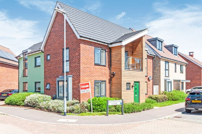 Thumbnail Detached house for sale in Sunderland Close, Upper Cambourne, Cambourne, Cambridge