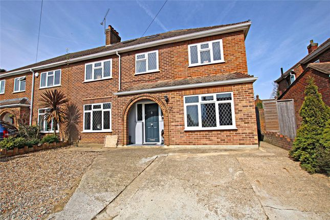 Thumbnail Semi-detached house for sale in Rowtown, Surrey
