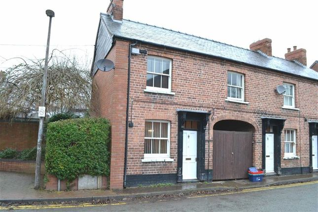 Thumbnail End terrace house for sale in 6, Old Church Street, Newtown, Powys