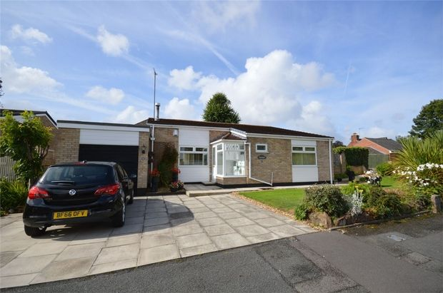 Thumbnail Detached bungalow for sale in Oakridge Close, Spital, Merseyside
