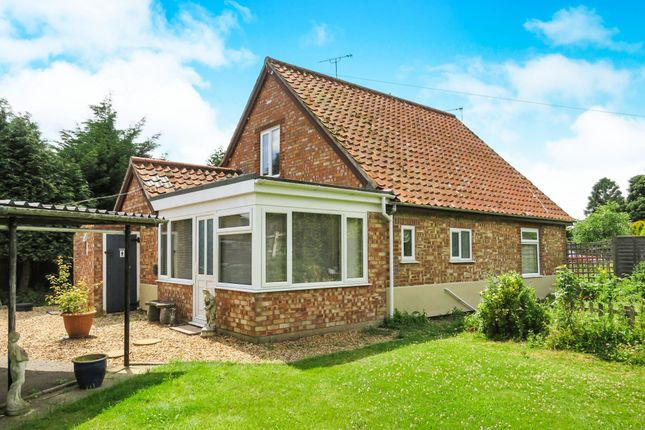 Thumbnail Bungalow for sale in Middlemarch Road, Toftwood, Dereham