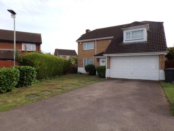 Thumbnail Detached house for sale in Buckfast Avenue, Bedford, Bedfordshire