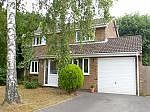 Thumbnail Detached house to rent in Holmwood Garth, Hightown, Ringwood