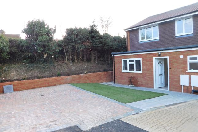 Thumbnail End terrace house for sale in Salt Hill Close, Ickenham