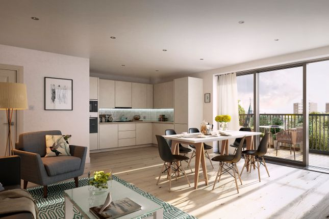 Thumbnail Flat for sale in Cambium, Victoria Drive, Southfields