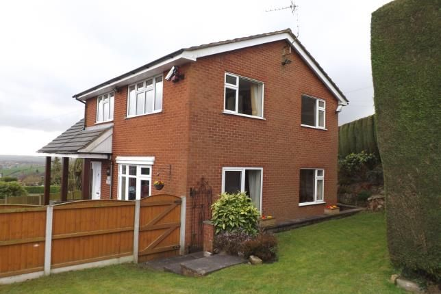 Thumbnail Detached house for sale in Mow Cop Road, Mow Cop, Stoke-On-Trent, Cheshire