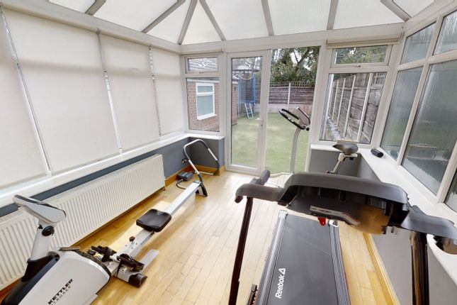 Conservatory of Peveril Close, Whitefield M45
