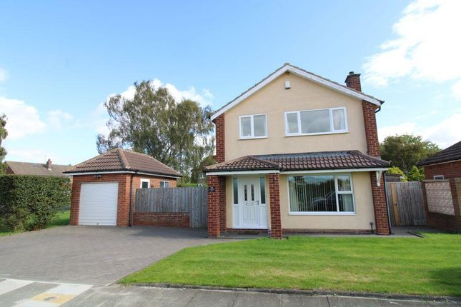 Thumbnail Detached house for sale in Ladywell Way, Ponteland, Newcastle Upon Tyne, Northumberland