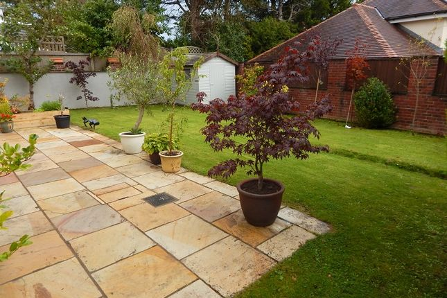 Rear  Garden of Caswell Road, Caswell Bay, Swansea SA3