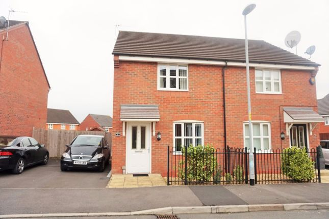 Thumbnail Semi-detached house to rent in Falshaw Way, Manchester, Greater Manchester