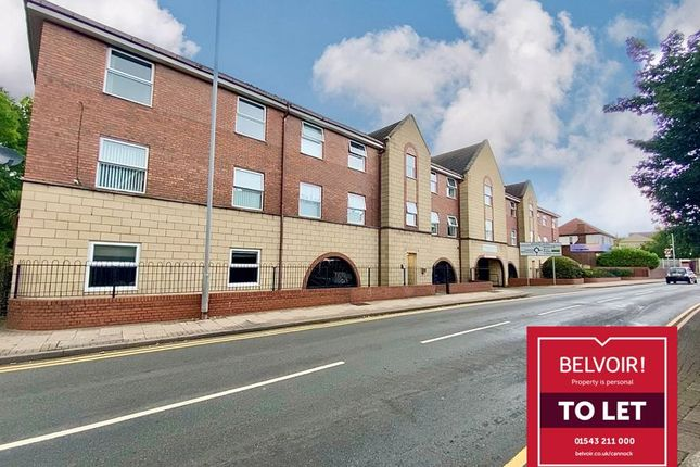 Thumbnail Flat to rent in Kelvestone House, Park Road, Cannock